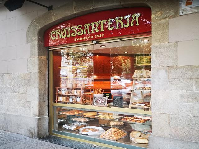 Panadería Croissanteria Forn De Pa, Barcelona España