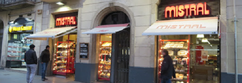 Panadería Forn Mistral, Barcelona España