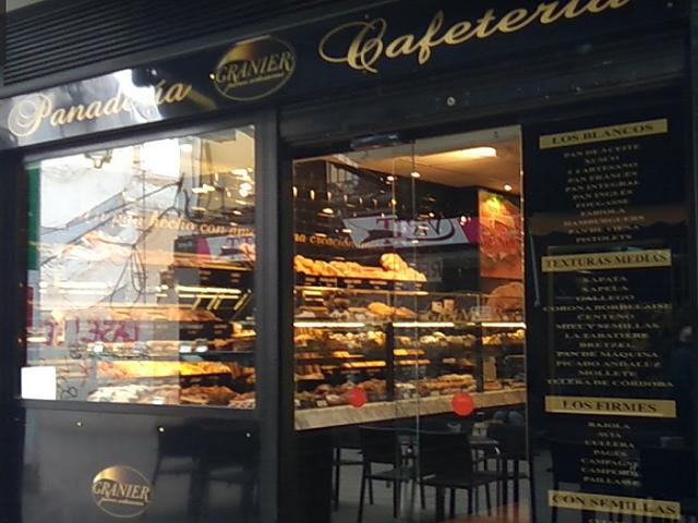 Panadería Granier, Avinguda Diagonal 421, Barcelona España