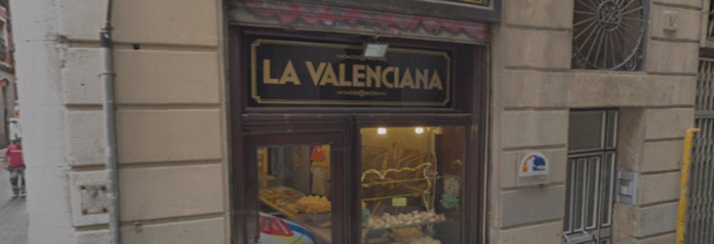 Panadería La Valenciana, Barcelona España