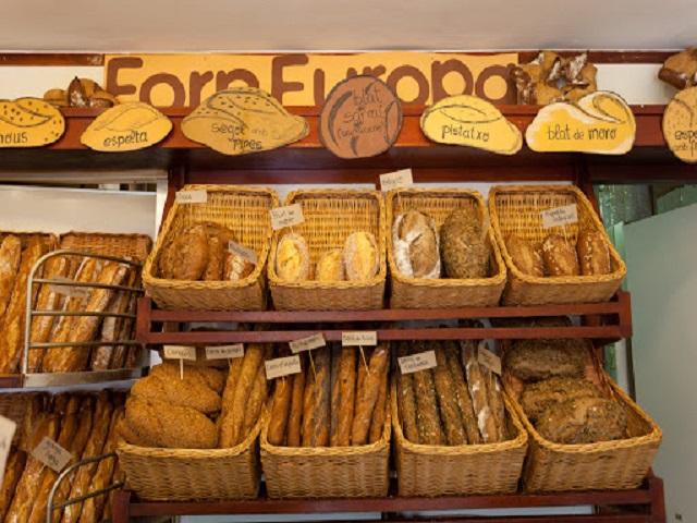 Panadería Forn Europa, Barcelona España