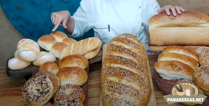 tipos de pan panaderia