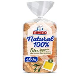 Bimbo Pan Blanco Natural 100 16 Rebanadas 460 g