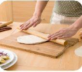 rodillo madera hacer pan